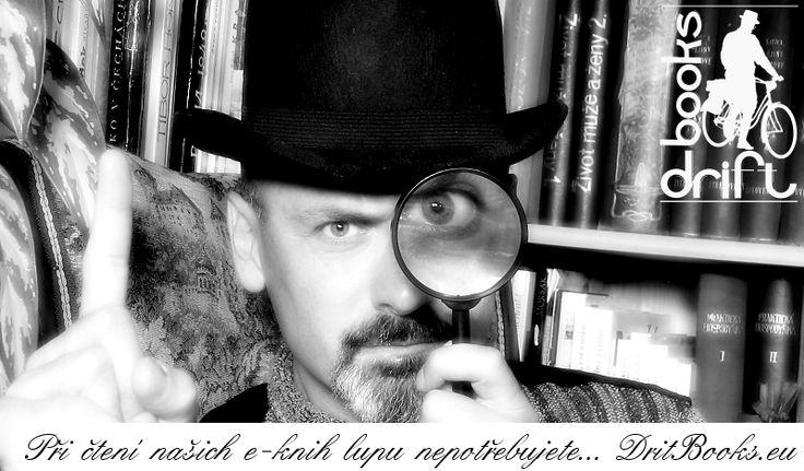 Při čtení našich e-knih lupu nepotřebujete...
