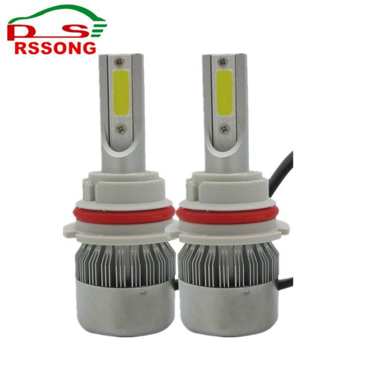 9004/HB1 /9007/HB5 LED Car Headlight Bulb 72W 8000LM COB LED Car Headlamp Hi-Lo Beam Automotive Light Conversion Kit 6500K 12V