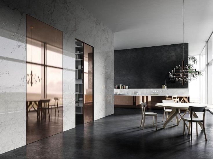 Le pareti divisorie mobili sono la soluzione ad hoc per separare/collegare diversi ambienti sia della casa che di un ufficio