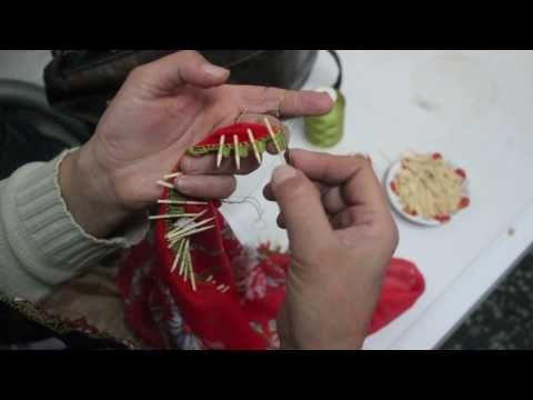 papatya tığ oya yapılışı - YouTube
