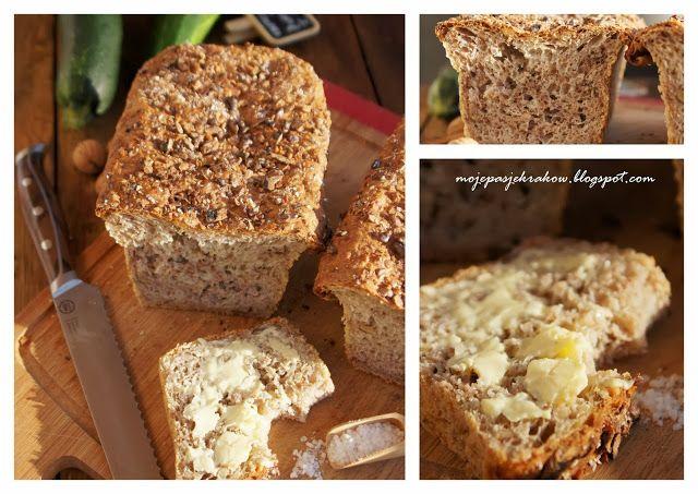moje pasje: Chleb cukiniowy z orzechami włoskimi