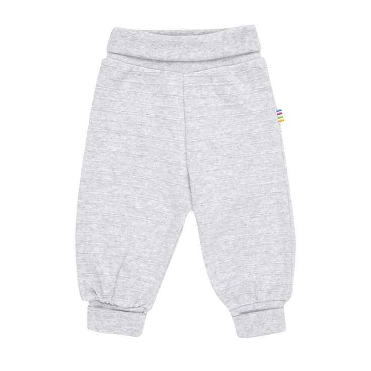 Certified EU Ecolabel, 100% cotton. Grey wide ribbed jog/casual pants, with a stretch cotton fold over waistband and ankle hem.  Made in Europe. $39.95 http://www.danskkids.com.au/collections/spring-summer-2015/products/joha-ottoman-pants-grey