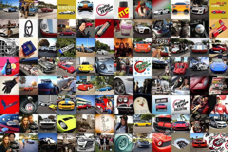 What are the Best Social Media Sites for Cars | RallyWays Collective Collage #cars