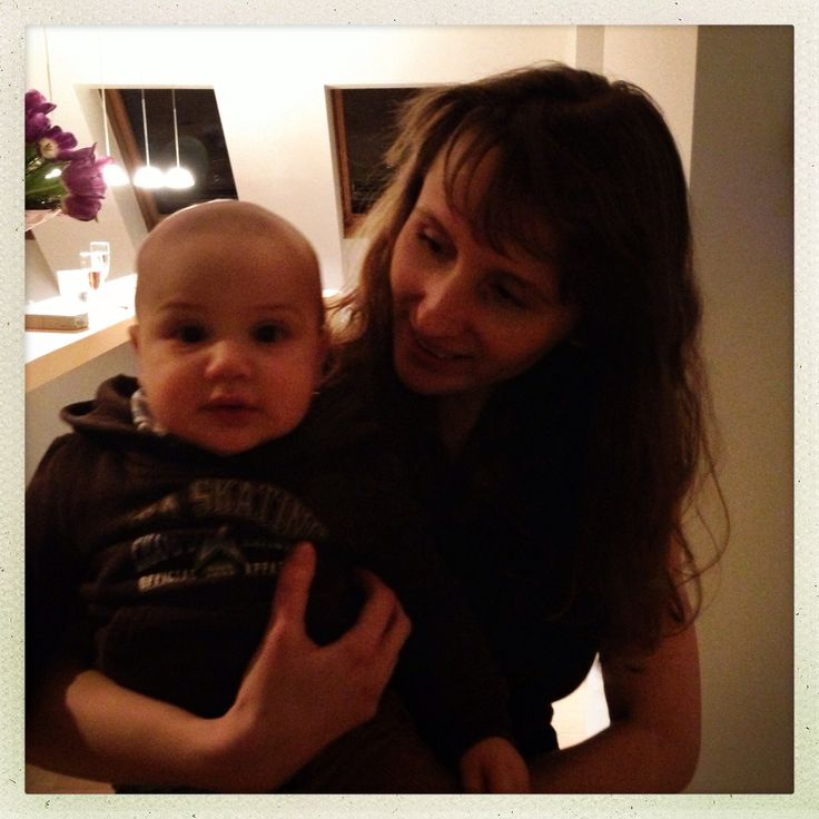With my baby boy max <3