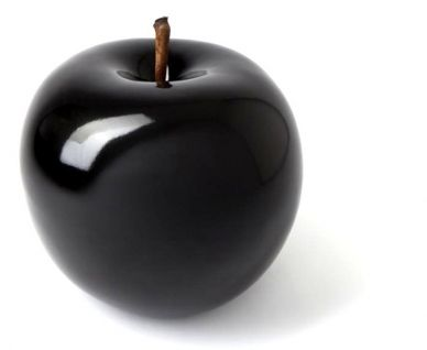 Black #ceramic fruit of Bull & Stein at diseno #istanbul #store