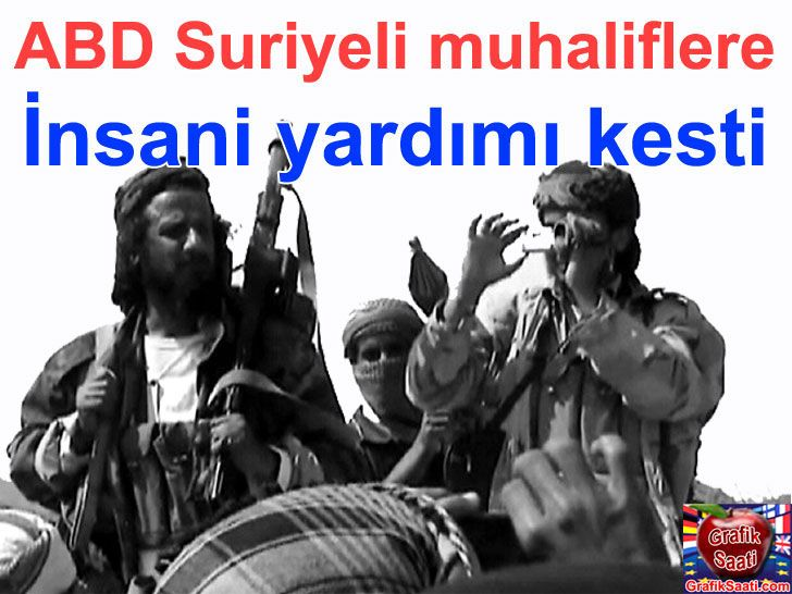 ABD ve İngiltere Suriyeli muhalihlere desteği durdurdu - Suriye Syrian FSA Free syrian army world politics USA