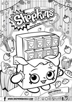 shopkins coloring pages printable | shopkins strawberry colouring pages