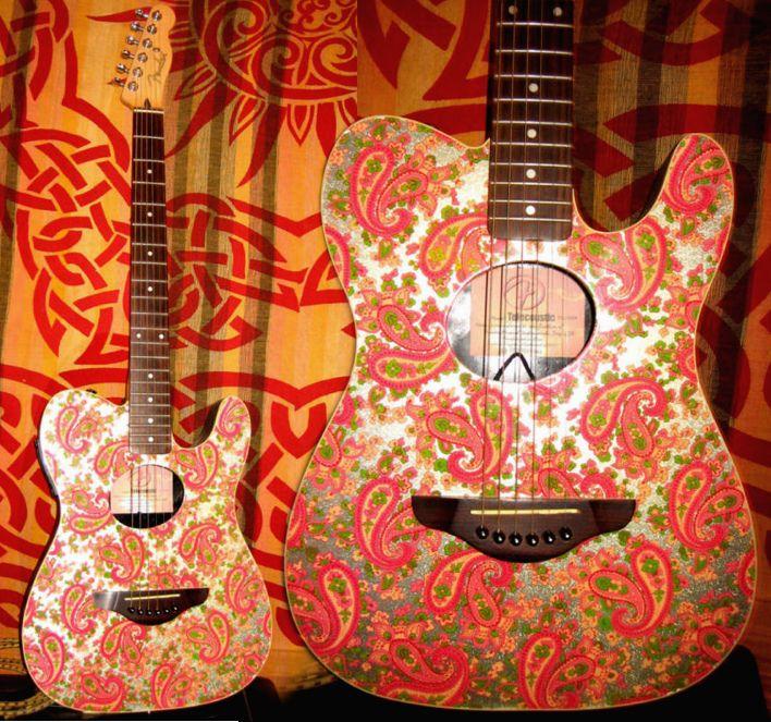 Fender Telecoustic Paisley