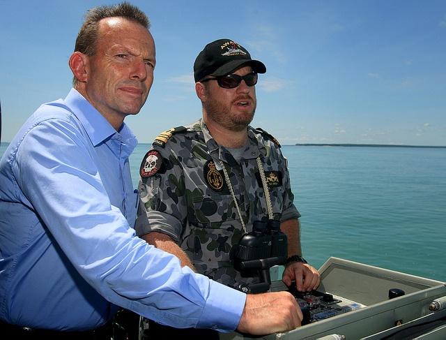Tony Abbott and Australian Navy