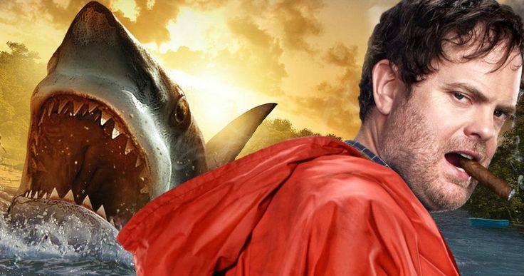 Rainn Wilson Will Battle a Giant Killer Shark in Meg -- Rainn Wilson joins Jason Statham, Jessica McNamee and Bingbing Fan in New Line's giant shark thriller Meg. -- http://movieweb.com/meg-movie-cast-rainn-wilson-killer-shark/
