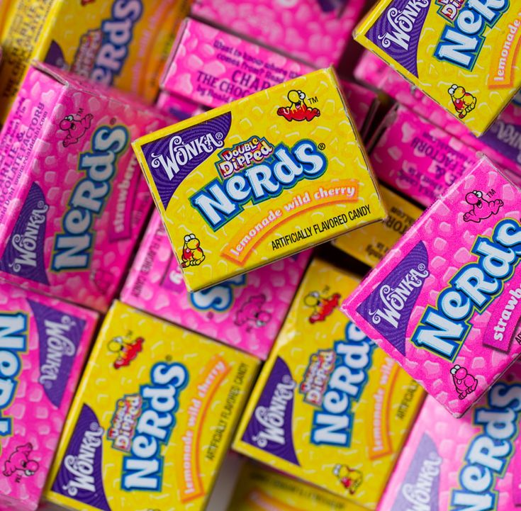 N.E.R.D.S.= Never End youR Day Scripturless.  Attach saying to a box of Nerds candy.