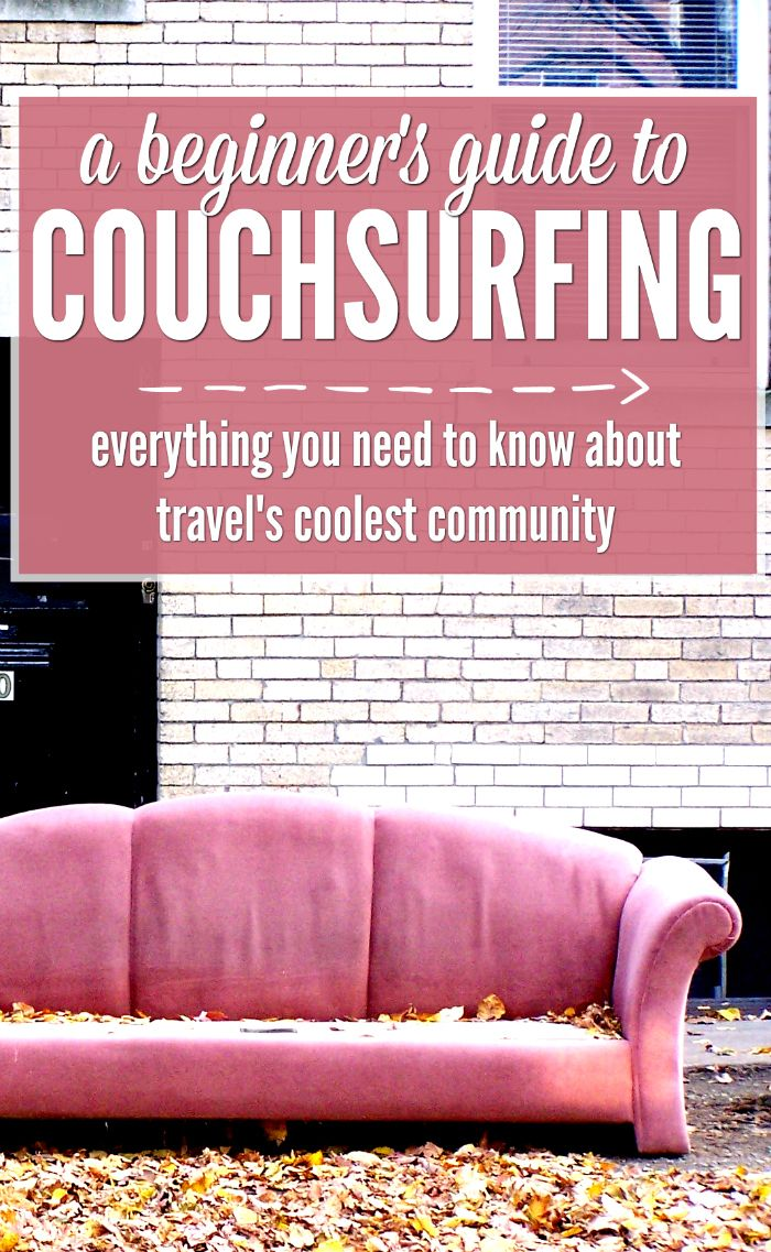 Heard of Couchsurfing? Get free accommodation, travel advice, events and travel buddies with backpacking's coolest community. Bren tells you everything you need to know.