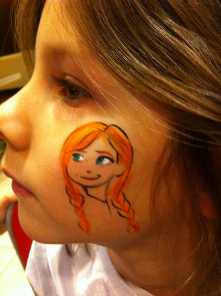 1195 best images about facepainting on pinterest for Frozen face paint