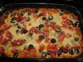 Low Carb Supreme Pizza Casserole. Crazy high in fat but who cares I'm preggo dang it!