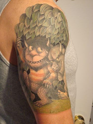 Don't know why I never thought of doing a Where the Wild Things Are tattoo before. I want this so bad now!