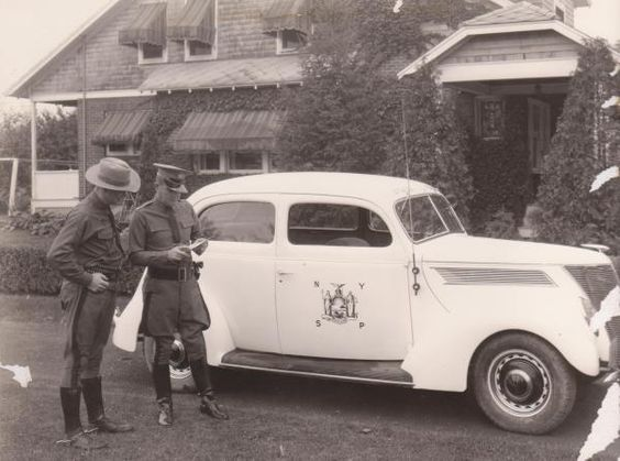 Old NYSP vehicle | Old Police Cars | Pinterest | Vehicles