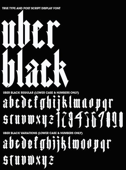 Font Creation on Behance