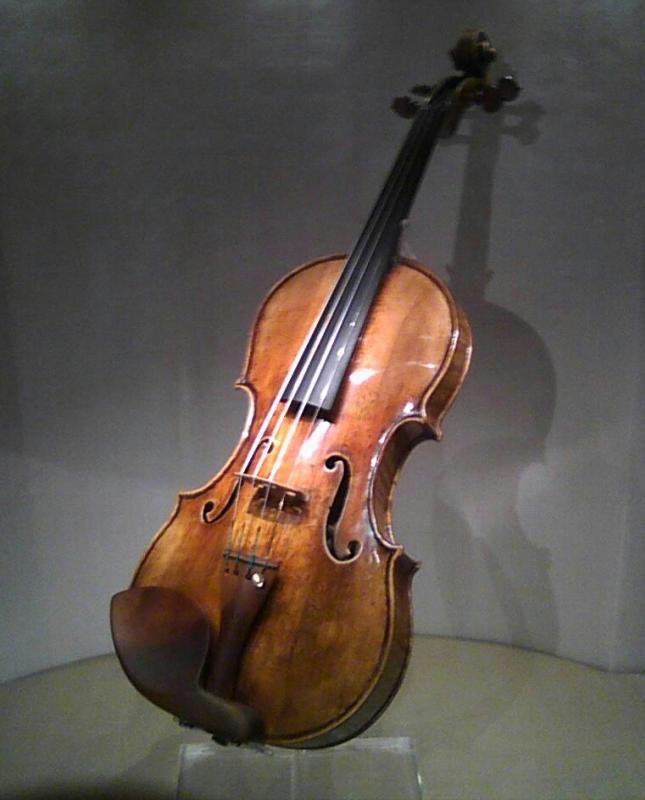 "Jascha Heifetz's Guarneri -"" The David """