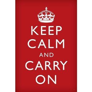 (24x36) Keep Calm and Carry On (Motivational, Red) Art Poster Print (Kitchen) http://www.amazon.com/dp/B002KVHO9W/?tag=wwwmoynulinfo-20 B002KVHO9W