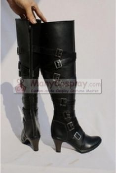 Black Butler Undertaker Cosplay Boots [sBB032] - $71.99 : Cosplay Master : ManyCosplay, (Cosplay Costumes, Wigs, Shoes & Boots)