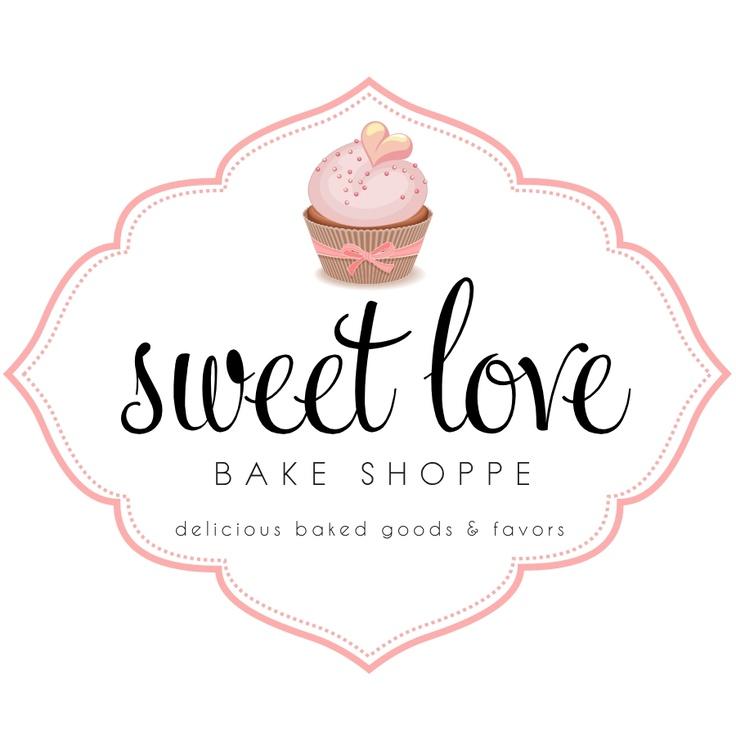Custom Logo Design for Sweet Love Bake Shoppe // Logo Design by Coconut Press