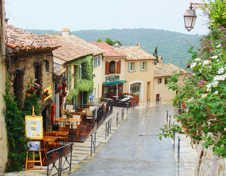 Ramatuelle, France.  Wine country outside of St Tropez.  The towns you find when you wander!