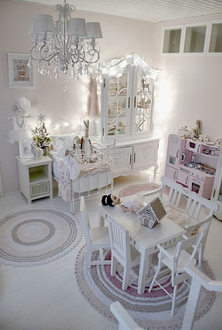 25 best ideas about shabby chic nurseries on pinterest - Little girls shabby chic bedroom ...