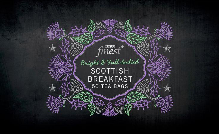 Tesco Finest* Scottish Breakfast Tea | By P&W Design Consultants