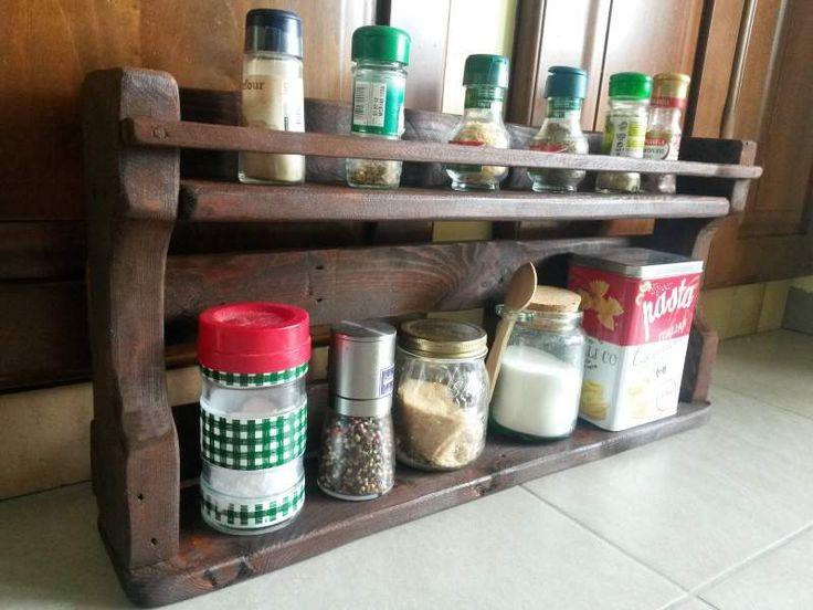 Mensola porta spezie mobile cucina