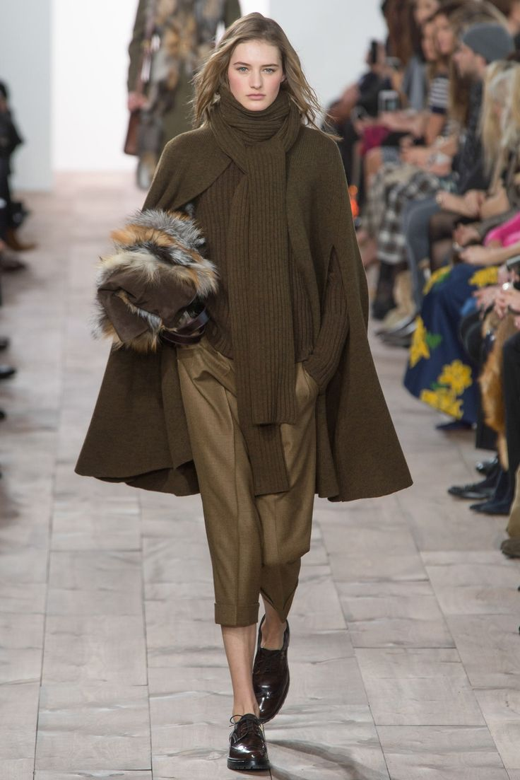 Michael Kors Collection Fall 2015 Ready-to-Wear Fashion Show - Sanne Vloet