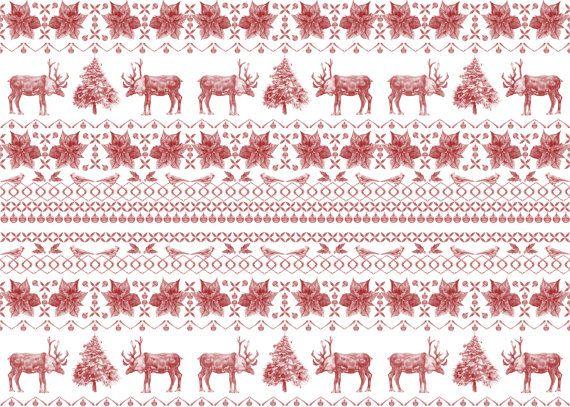 WEIHNACHTSANGEBOTE - Weihnachts-Geschenkpapier - 2 Designs - Lebkuchen Kekse & Weihnachten Jumper - einzelnes Blatt - illustrierte Verpackun...
