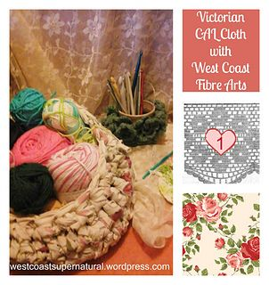 CAL Mystery! This is the first Victorian Mystery CAL Cloth! Hurry over while it is 50% off, less than $1 until 7 January 2017 #CAL #Mystery #mysteryCAL #Victorian #crochetcloth #washcloth #spacloth