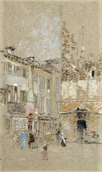 James McNeill Whistler (1834–1903), Campanile Santa Margherita