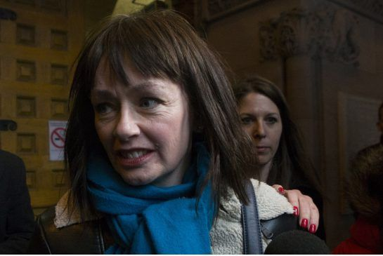 """Lucy DeCoutere quits Trailer Park Boys after Mike Smith battery charge Actor who plays Bubbles and Georgia Ling, the alleged victim of a domestic assault at a Hollywood hotel, issue a joint statement saying it was just a """"heated dispute."""""""