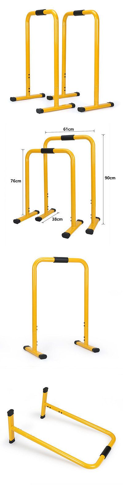 Other Strength Training 28067: Body Press Dip Stand Fitness Equalizer Parallel Bars Dip Station Bars Yellow -> BUY IT NOW ONLY: $79.99 on eBay!