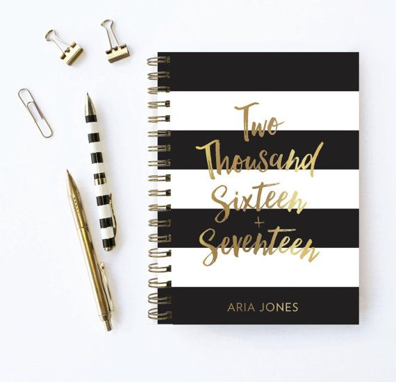 Personalized Planners by Karma Paper Co. Choose your start month!   PLEASE READ ALL THE WAY DOWN BEFORE PURCHASING :-)   ♥ Planner Details:  • Emph...