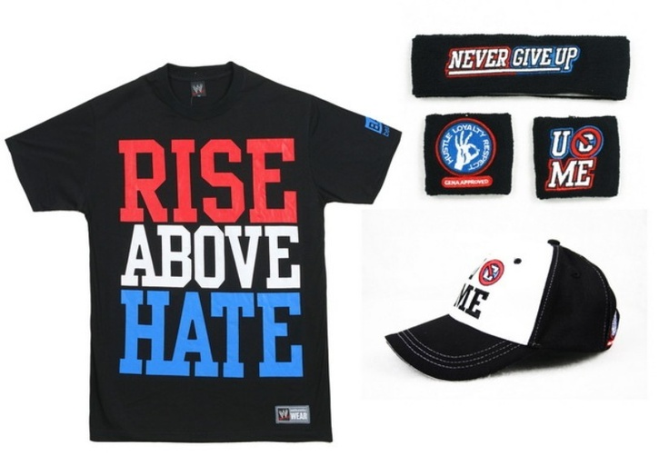 WWE John Cena Rise Above Hate Package