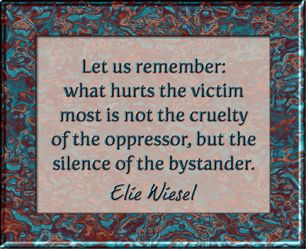 Elie Wiesel Quote Art                                                       …