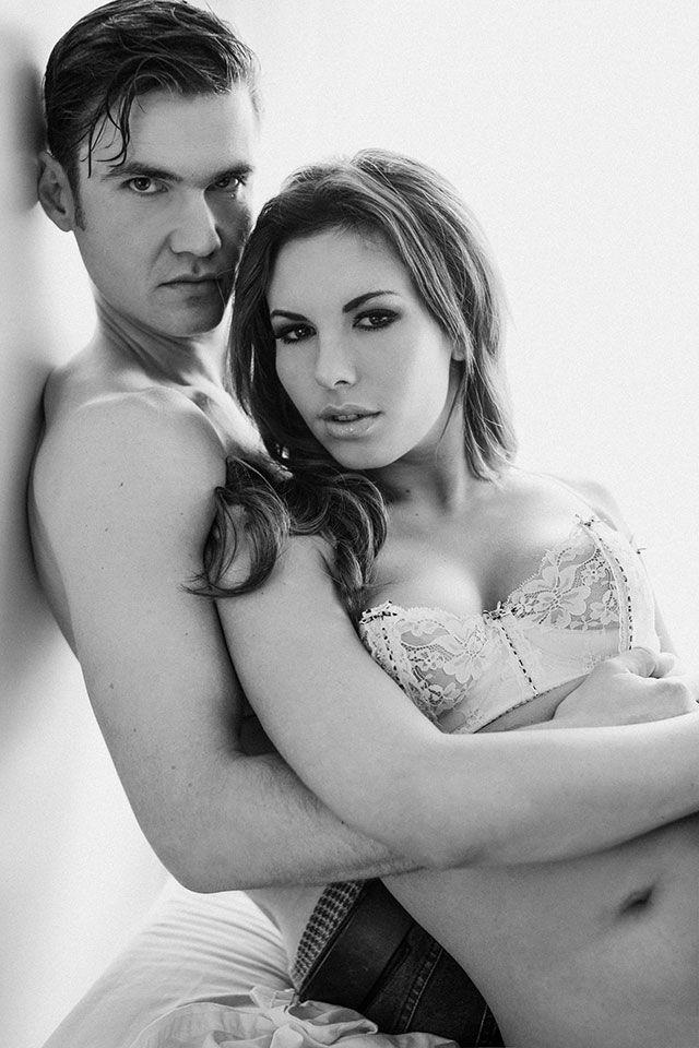 Speaking Couple boudoir photography ideas poses