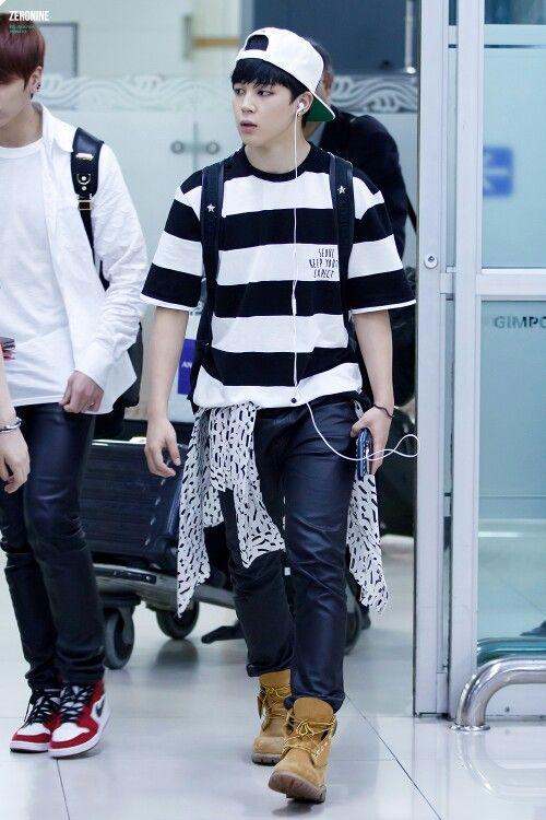 Jimin - airport fashion | KPOP FASHION | Jimin, BTS, Bts jimin