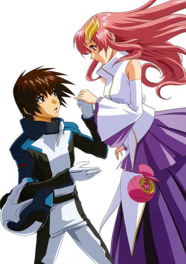 Mobile Suit Gundam SEED : Kira Yamato, Lacus Clyne