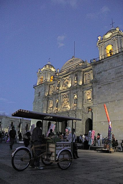Catedral de Oaxaca, Mexico, The spiral of creation is feminine, therefore. we all living life forms come from the heart of the goddess in us, beauty and creation are my motives for being, find here my own art work and great artists 4 life, go green and self-sufficient with renewable energies that cost no money, http://ninaohmanarts.com