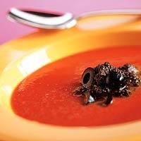 Recept - Tomaten-paprikasoep met ansjovis - Allerhande