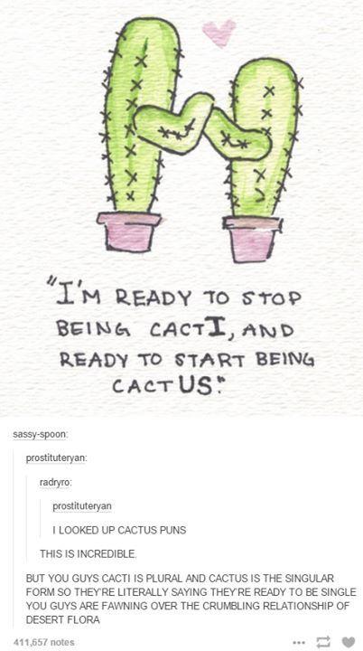 Cactus puns..that thread lol