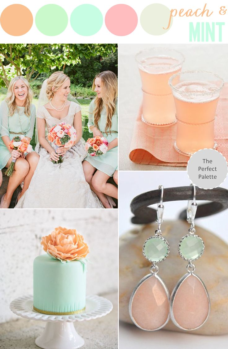 Now Trending | Peach + Mint