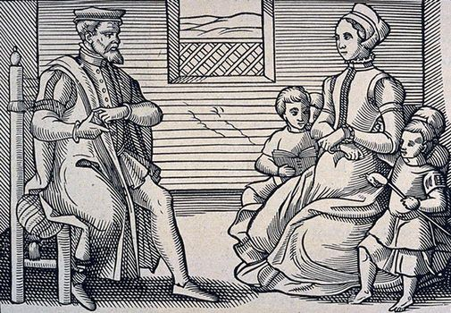 Social expectation: The Puritans lived a very strict life and did not dance, sing, or party.