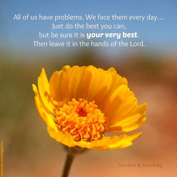 """All Of Us Have Problems. We Face Them Every Day. Be"