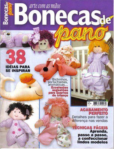 revista bonecas de pano_1 - Edil Menezes - Álbuns da web do Picasa
