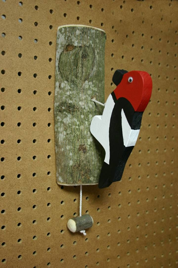 Woodpecker door knocker!