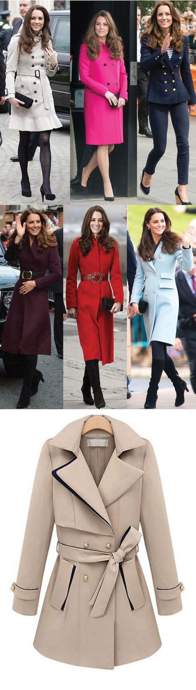 Kate Middleton Coats - I want them all!